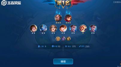 王者模拟战版本最强阵容队伍推荐